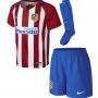 Atletico Madrid Home Set Baby 16:17
