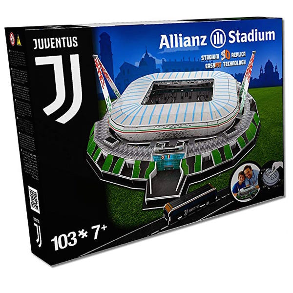 Juventus Stadion 3D Puzzel - Football Store
