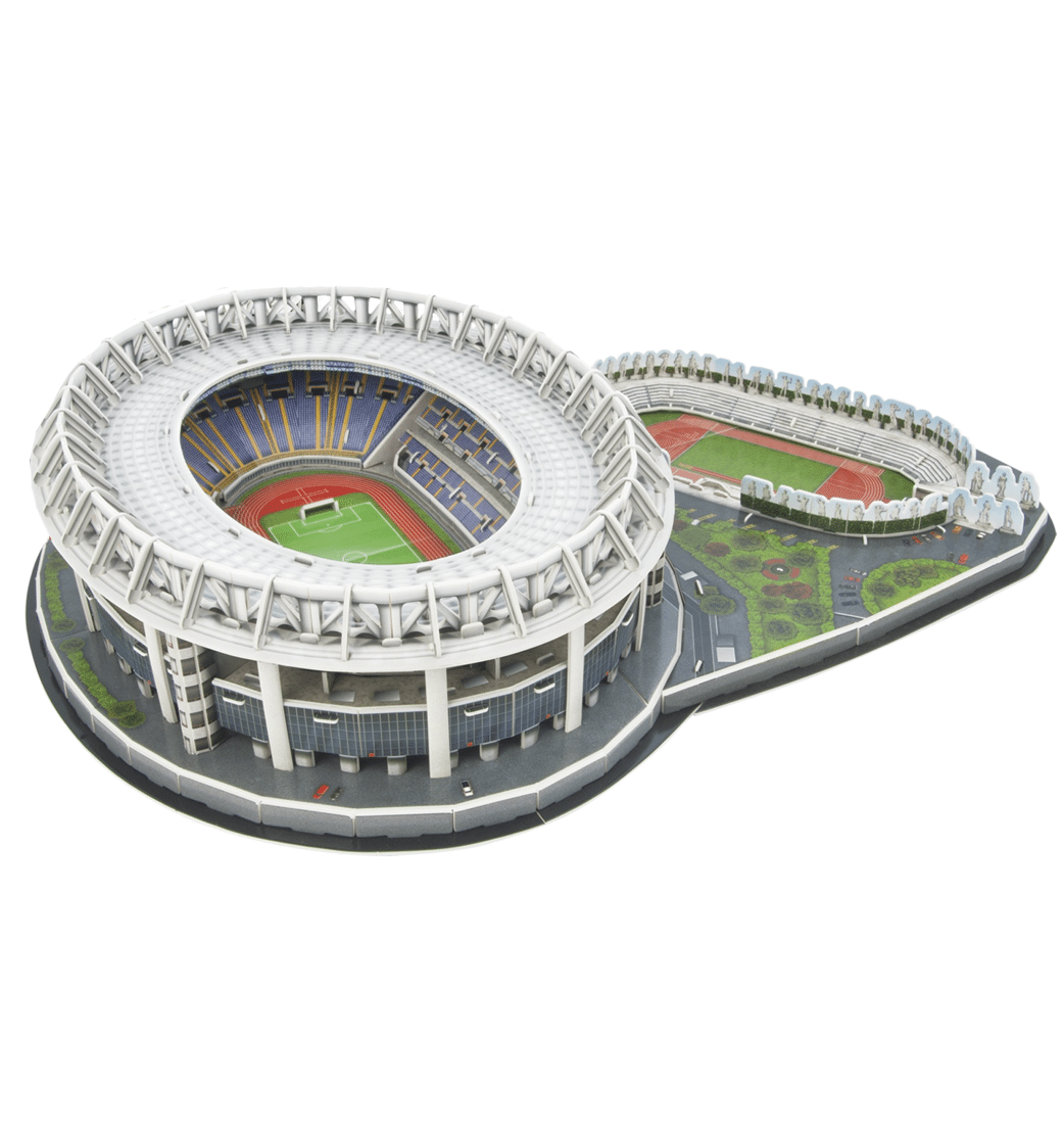 as roma olimpico stadion 3d puzzel football store. Black Bedroom Furniture Sets. Home Design Ideas