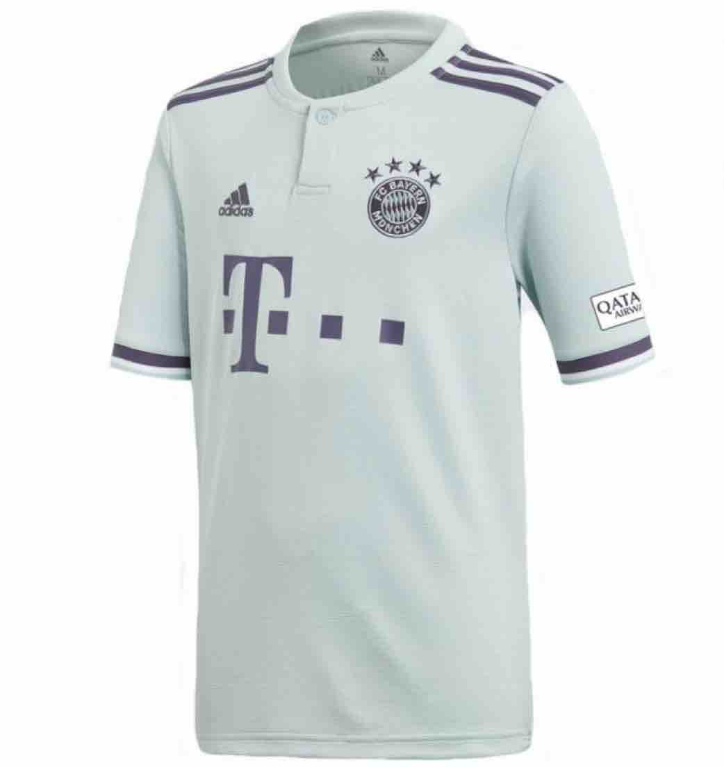 Bayern Away 1819 Football Shirt München Kids Store 8nOXwPk0
