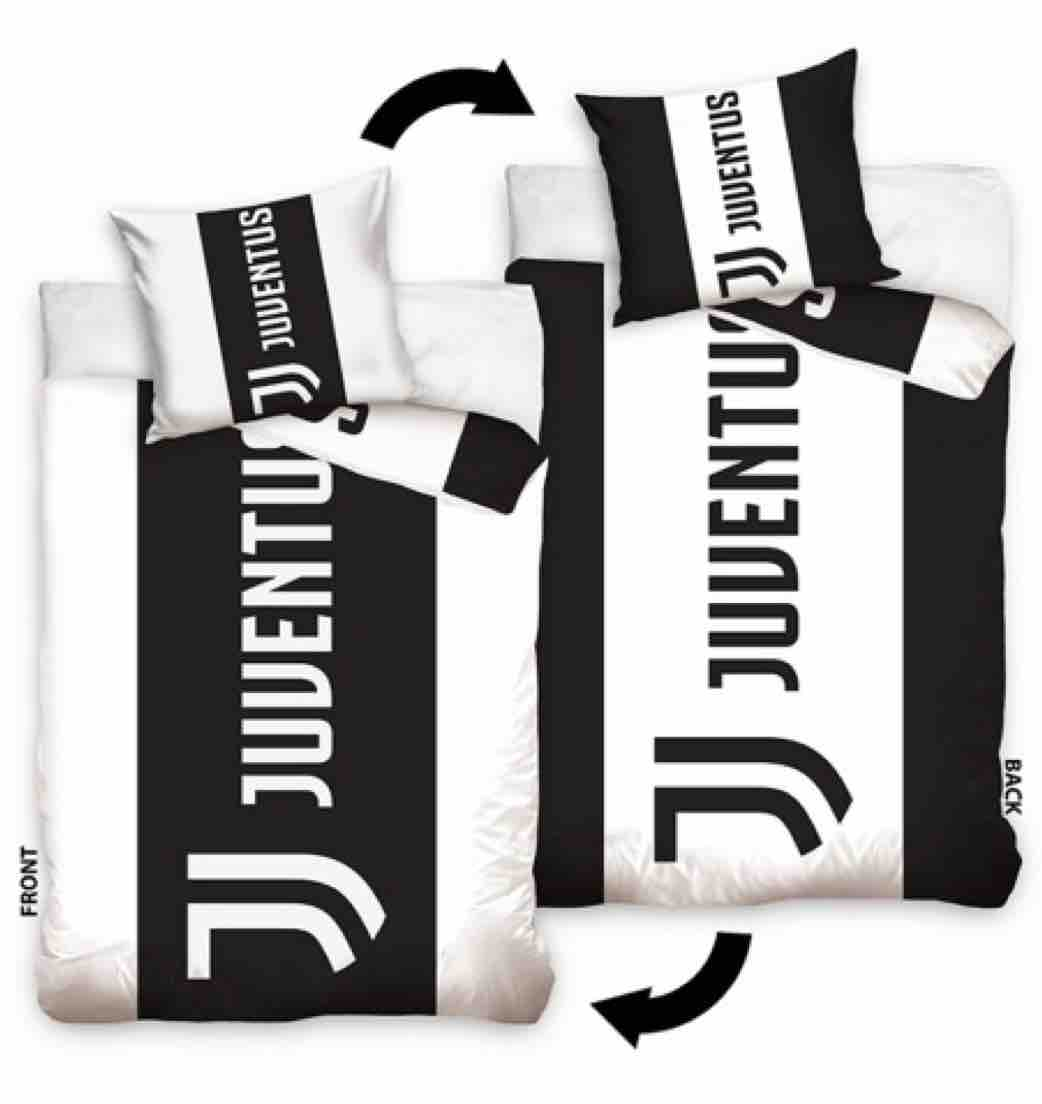 Juventus 140 X 200 Single Duvet Set Bk8 Football Store Belgium