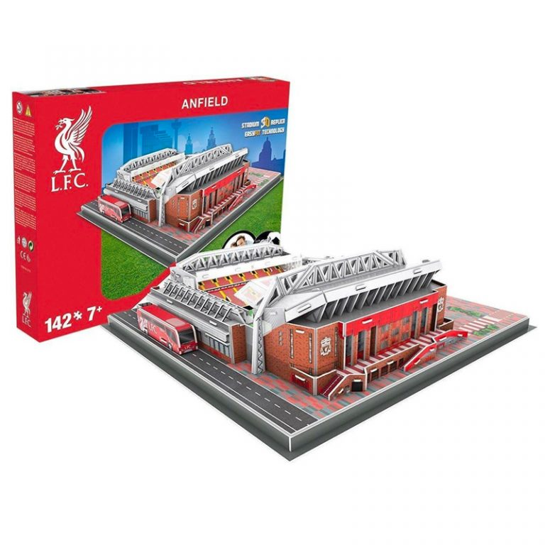 Liverpool 3D Stadion Puzzel